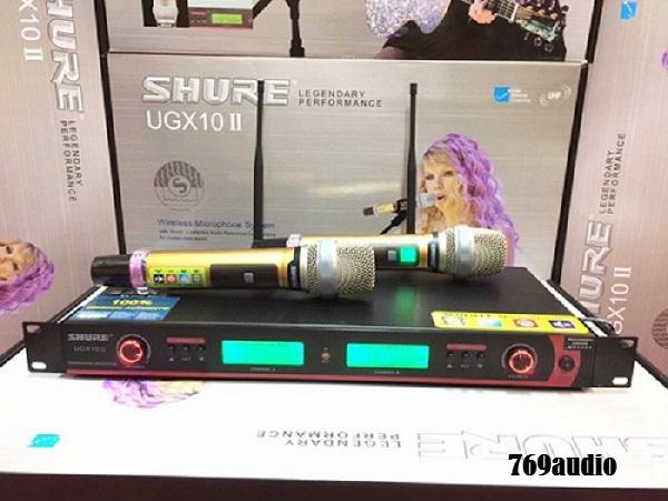 Micro Shure UGX10 II